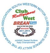 ASWMC Rally of the year award logo