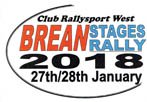 Brean stages rally 2018 logo